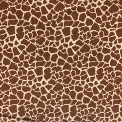 Tela estampado animal jirafa