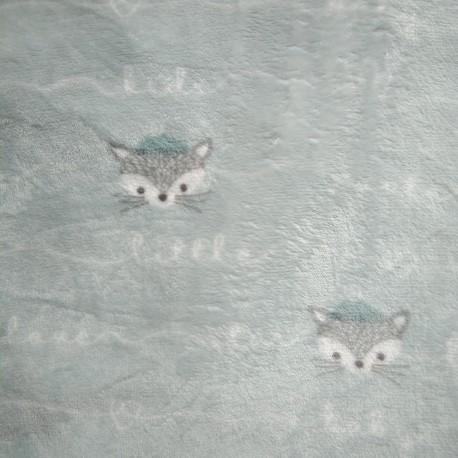 Tela Polar Zorros