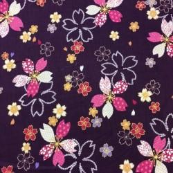 Japanese Flowers purple Kokka (10cm.)